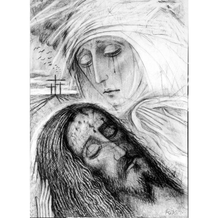 Icone icona la piet for Arredi liturgici cammino neocatecumenale