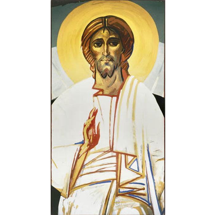 Icone cristo benedicente for Arredi liturgici cammino neocatecumenale