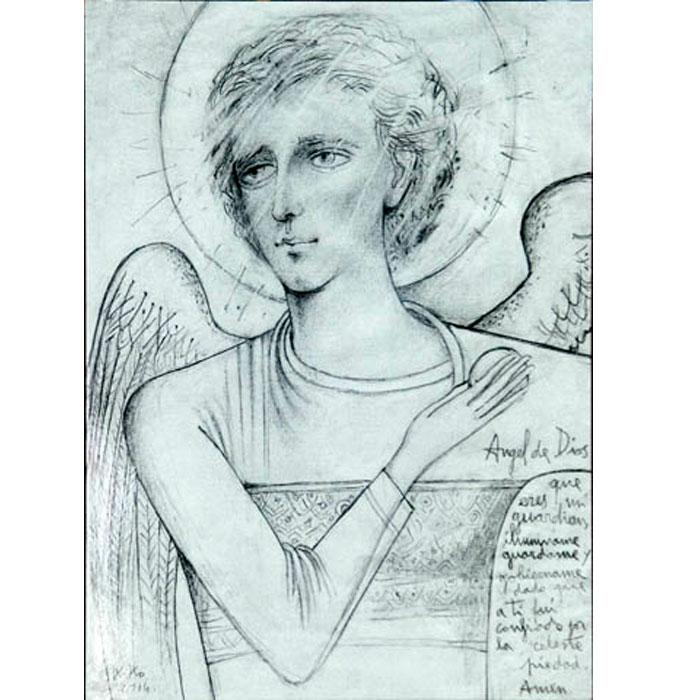 Icone angelo custode for Arredi liturgici cammino neocatecumenale